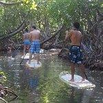 Leisurely paddleboarding!