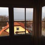 Zimmer 22, DZ, Blick aus Fenster