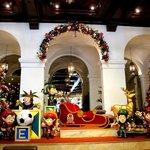 Christmas Lobby Display