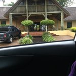 Arriving @ the Lodge