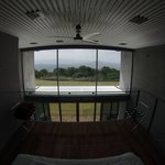 View from the top floor of the bedroom