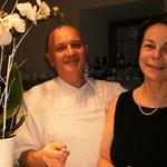 """Le """"chef"""" et son épouse """"Moulin de Cochelin"""""""