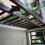 Balkon nach zimmerservice!