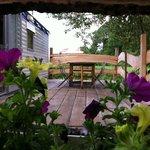 Terrasse mobile-home