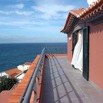 Terrasse der Suite