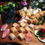 Tabla Floreana sushi for 2 or 3