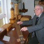 Mr Tomasson playing Icelandic music