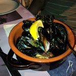 Second dish - Mussels