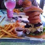 gourmet burger @ Watering Hole