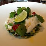 Sea Bass salad