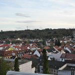 Vue sur la ville de Bruchsal