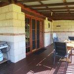 Verandah, cottage two
