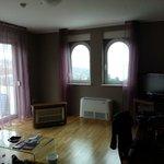 L'interno dell'appartamento