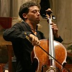 Davide Amadio cellist od Interpreti Veneziani