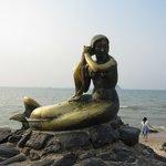 The Mermaid statue
