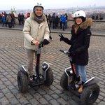 Castello di Praga tour segway