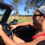 Driving through Merimbula