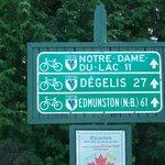 Le Parc linéaire interprovincial Petit Témis