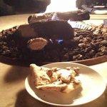 Organic Mushroom Triple cream brie, goat cheese & sherry vinegar