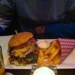 hamburguesa (patatas deliciosas)