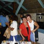 Aqui con la Sra BONITA! que es Helena Santos la directora del hotel