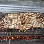 barbecue langoustes