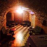 "La salle principale de notre discothèque ""Le Menhir"""