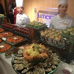 Sea food sampler bar