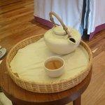 Tea after a massage