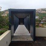 Brücke zum oberen Fahrstuhl