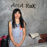 Check out the Name-you might miss it Atta Rak Nice hostess