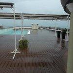 toit de l'hôtel