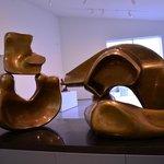 Henry Moore's reclining figure.