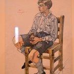 Whistful watercolour by Albert Wainwright.