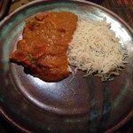 Svært liten porsjon Tikka Masala (Men god smak!)