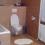 Bathroom in room # 4, with its bathtub