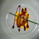 Foie gras juste poêlé