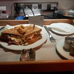 Club Sandwich en la habitación