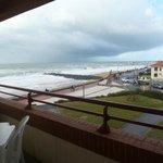 Le balcon avec vue sur la mer