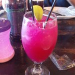 prickly pear margarita and stone gotterdammerung IPA