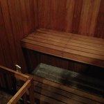 Tem até Sauna Seca