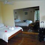 Second floor room (two beds)