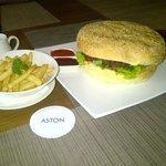 Big burger...