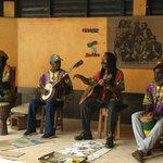 Reggae musicians not playing at Nine Mile Mausoleum