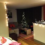 Our crimbo tree and decs