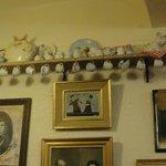 Muitos porcos na decoração