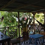 very tranquil veranda