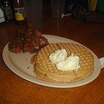 Signature chicken & waffles