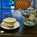 Jasmine tea served with a timer!