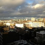 View of North London from the top floor